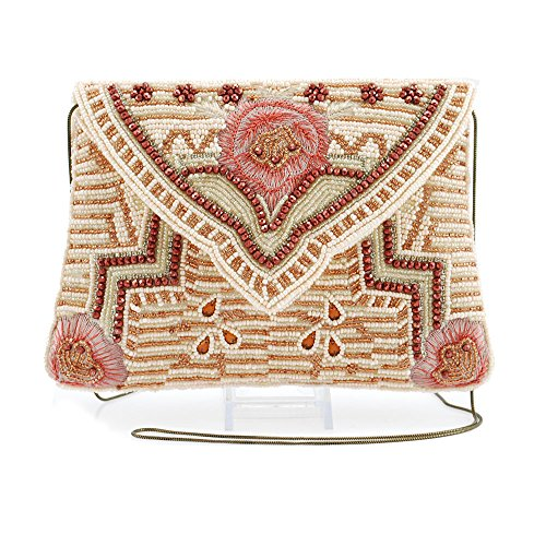 Mary Frances Sugar On Top Mini Beaded Handbag