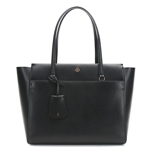 Tory Burch Parker Tote Bag 37169-019 Black/Cardamom