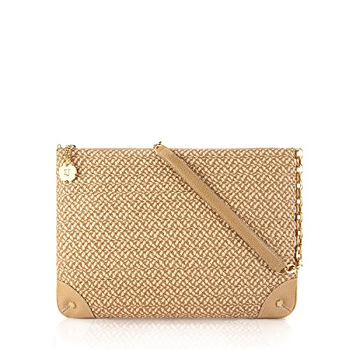 Eric Javits Designer Women's Handbags Squishee Didi Bag (Peanut)