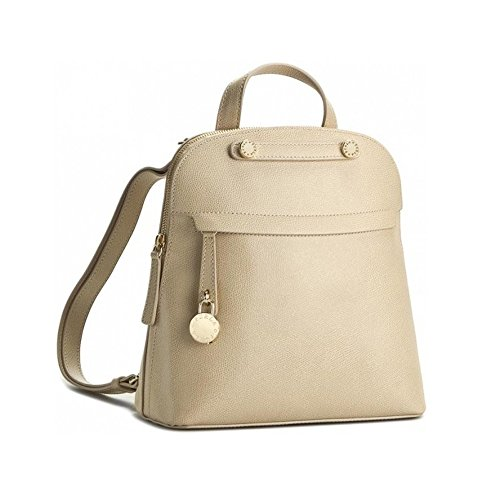 Furla Piper M Back Pack-Acero