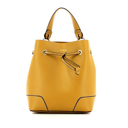 Furla Stacy S Drawstring saffron