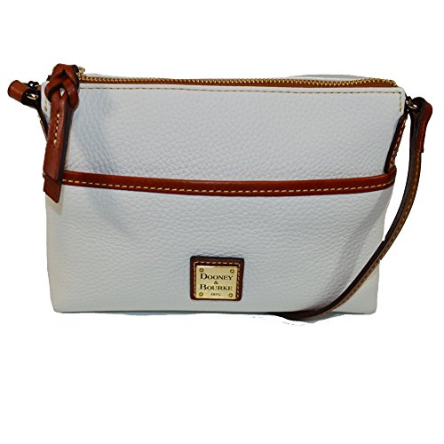 Dooney & Bourke Pebble Leather Ginger Pouchette Crossbody Bag