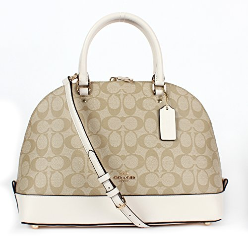 Coach Signature Sierra Satchel – Light Khaki/Chalk