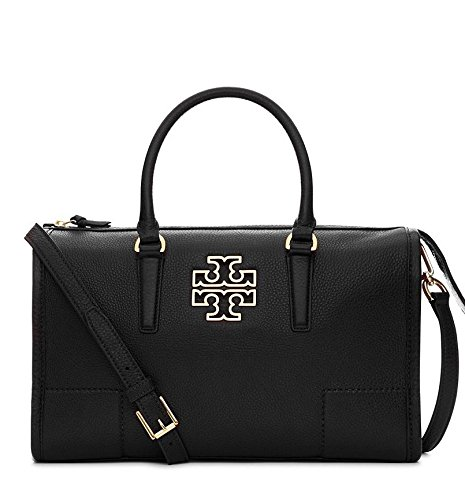 Tory Burch Britten Satchel in Black 495$ style 39056