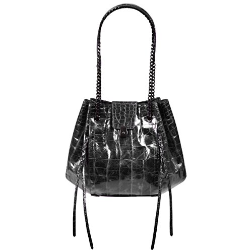 Eric Javits Luxury Designer Women's Fashion Handbag – Lil' Leigh – Black