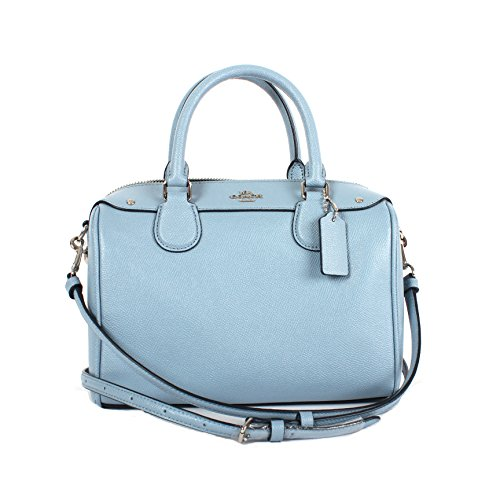 Coach Women's leather Handbag F57521 (Blue)