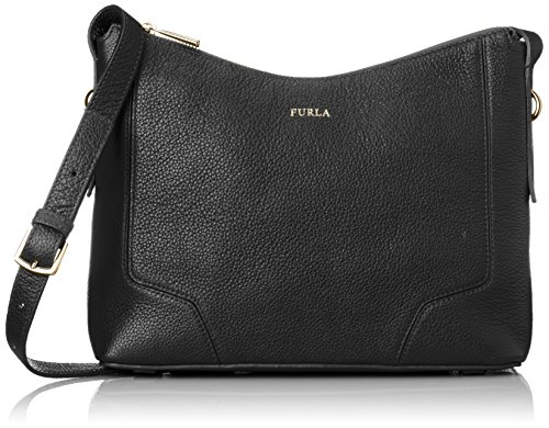 Furla Women's Perla Small Crossbody Onyx Cross Body