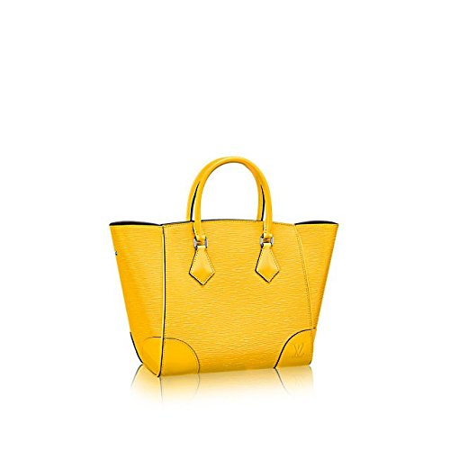 Authentic Louis Vuitton Epi Leather Phenix PM Bag Tote Handbag Article: M50941 Jonquille Made in France