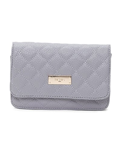 BCBG PARIS Mini Quilted Crossbody