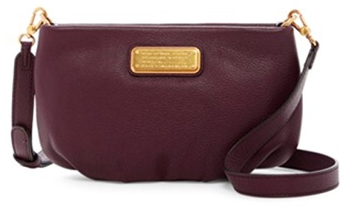 Marc by Marc Jacobs Percy Leather Crossbody – Dark Wine