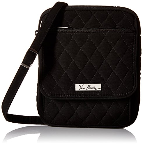Vera Bradley Mini Hipster Cross Body / Shoulder Bag in Classic Black
