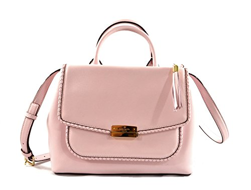 Kate Spade Jaclynn Castle Lane Leather Crossbody Shoulder Bag, Pink Blush