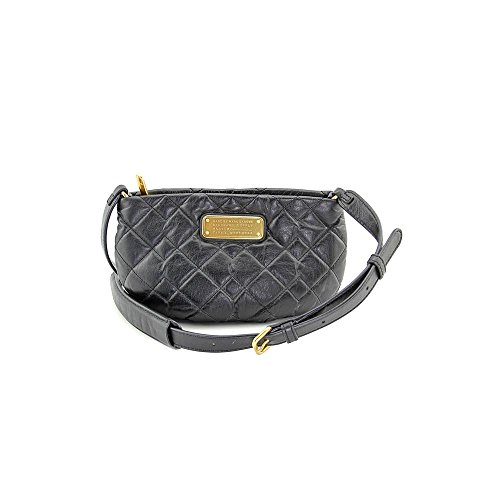 Marc by Marc Jacobs Women's New Q Quilted Percy Black 1 Cross Body