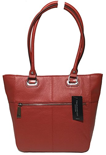 Tignanello Perfect Pockets Medium Tote, Brick, T67020