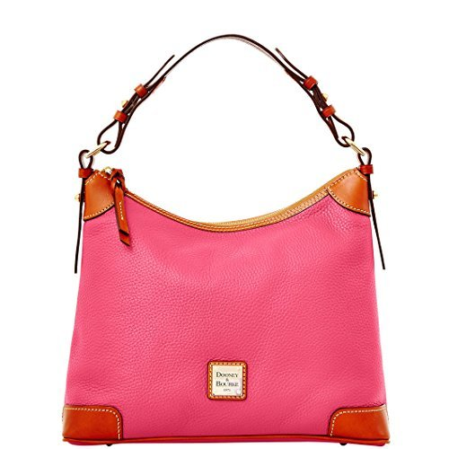 Dooney & Bourke Pebble Grain Hobo,Hot Pink