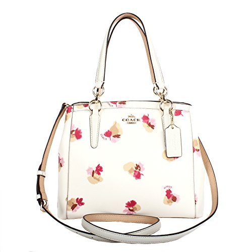 COACH Field Flora Minetta Satchel F38417 Chalk Multi