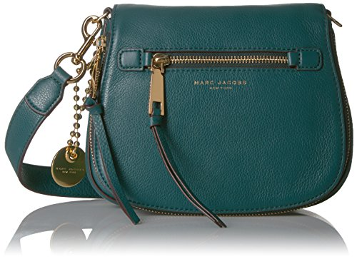 Marc Jacobs Small Recruit Saddle Bag, Teal