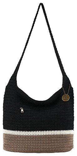 THE SAK Riveria Colorblock Hobo Handbag One Size Black multi