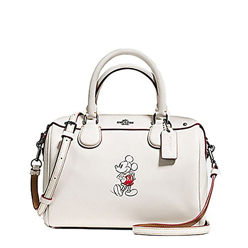 Coach Mickey Mouse Leather Mini Bennett Cross Body Purse – #F59371