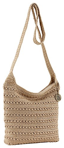 THE SAK Riveria Crossbody Handbag One Size Bamboo beige