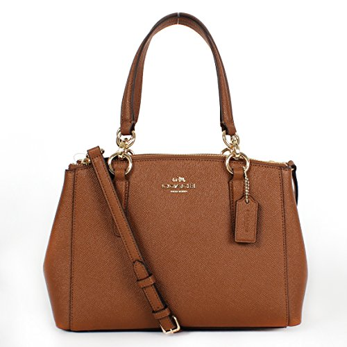 MINI CHRISTIE CARRYALL IN CROSSGRAIN LEATHER