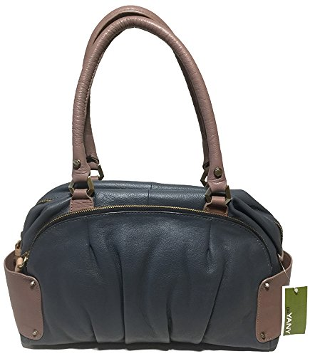 orYANY Tina Two Tone Leather Satchel Bag, Slate Multi