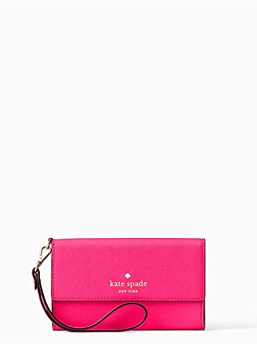 KATE SPADE NEW YORK Cedar Street Iphone Wristlet Pink Confetti
