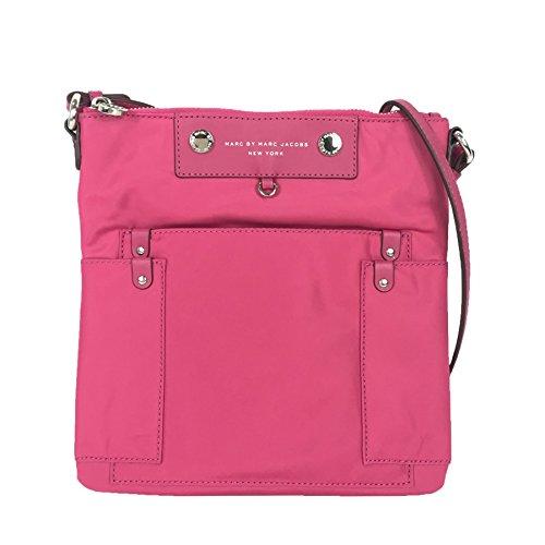 Marc by Marc Jacobs Preppy Nylon Sia Swingpack Crossbody, Begonia Pink
