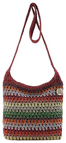 THE SAK Riveria Bohemian Crossbody Handbag One Size Bohemian red multi