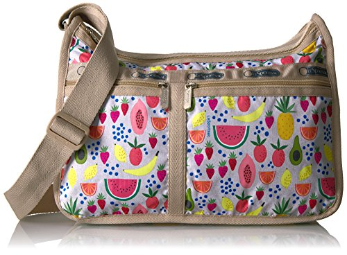 LeSportsac Classic Deluxe Everyday Bag, Summer Fruits