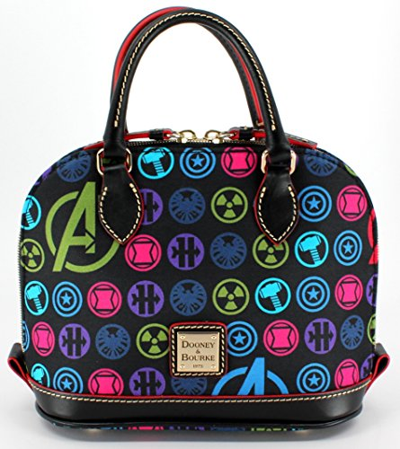 Disney Marvel Avengers Dooney & Bourke Bitsy Satchel – Small Crossbody Bag Purse
