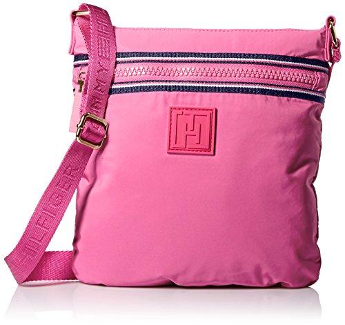 Tommy Hilfiger Sport Nylon Flat Cross Body Bag, Rose Violet, One Size