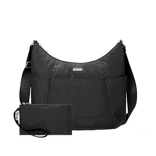 Baggallini Hobo Travel Tote, Black