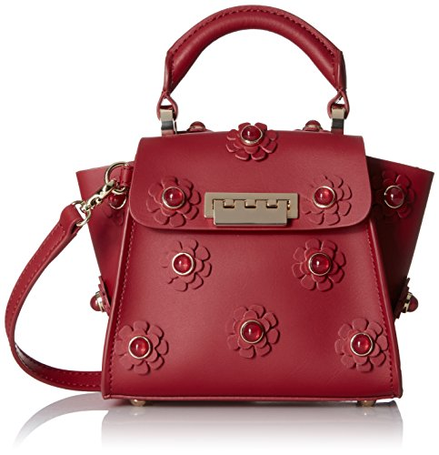 ZAC Zac Posen EARTHA ICONIC TOP HANDLE MINI RED, Red