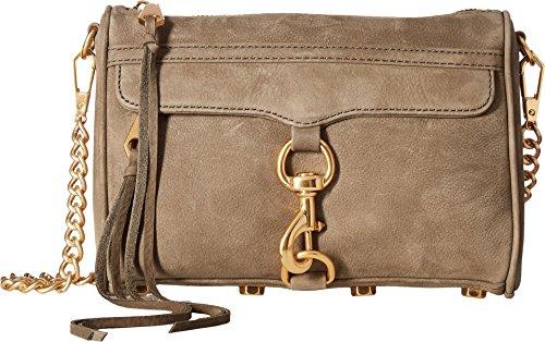 Rebecca Minkoff Women's Mini MAC Cross Body Bag, Olive, One Size
