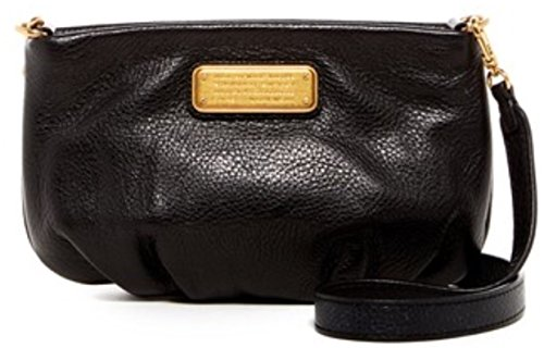 Marc by Marc Jacobs Percy Leather Crossbody in Black