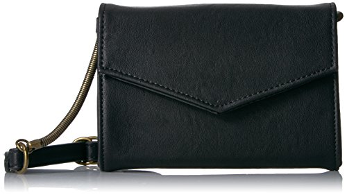 Madden Girl Stamp Crossbody, Black
