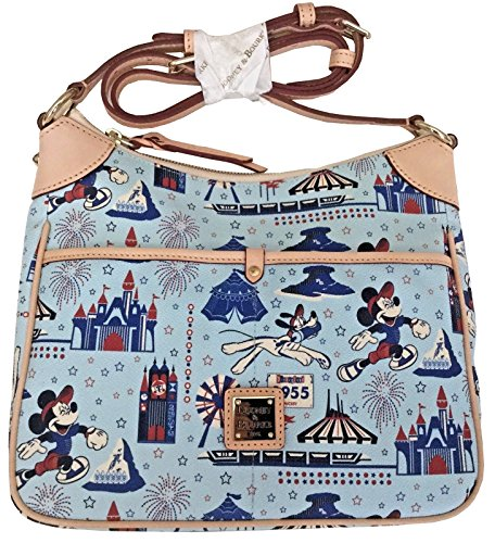 Disney Dooney & Bourke Disneyland Half Marathon 2016 Kimberly Crossbody Bag