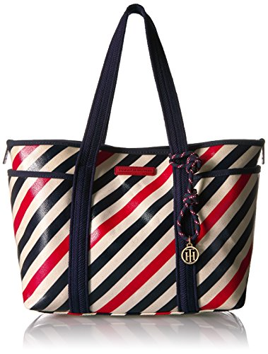 Tommy Hilfiger Dariana Travel Tote Bag for Women, Tommy Navy