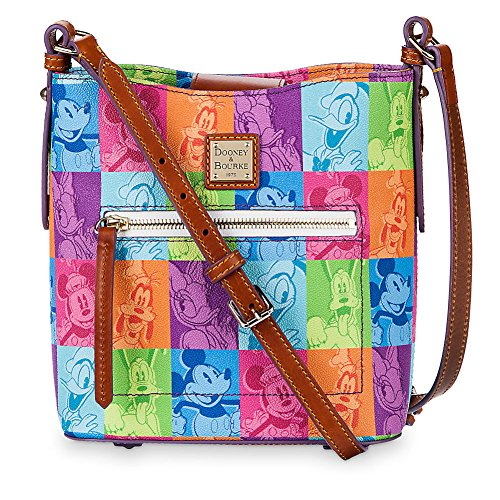 Disney Dooney & Bourke Bag Mickey & Friends Pop Art Crossbody Purse
