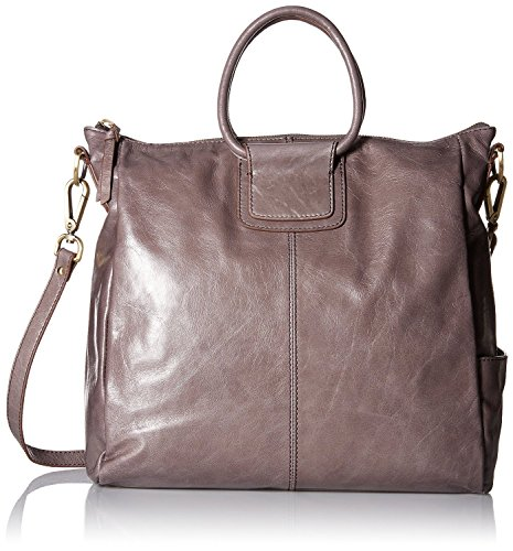 Hobo Women's Leather Vintage Sheila Oversized Crossbody Bag (Granite)