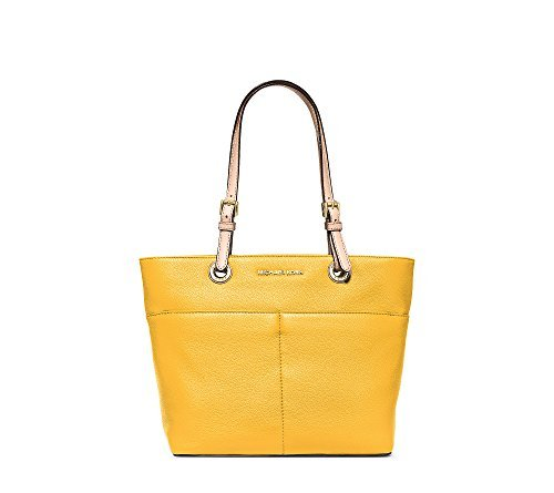 Michael Kors Jet Set Item Top Zip Tote soft leather sunflower/Gold