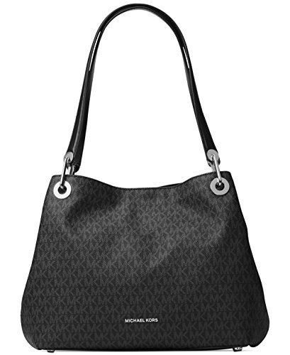 MICHAEL Michael Kors Large Shoulder Tote Black