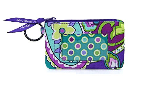 Vera Bradley Zip ID Card Case (Heather)