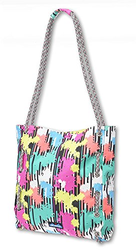 KAVU Women's Roper Bag, Retro Palm, One Size