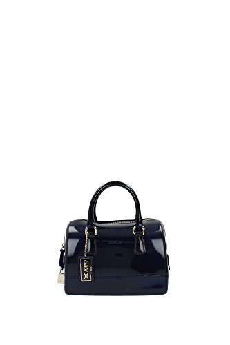 Furla Candy Cookie S Satchel (Navy)