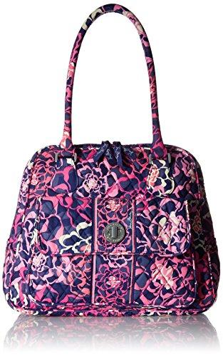 Vera Bradley Women's Turnlock Satchel Katalina Pink Handbag