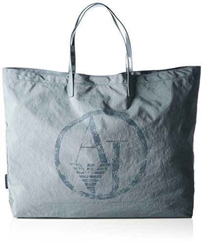 Armani Jeans Lyda Packable Tote, 00143 Grey