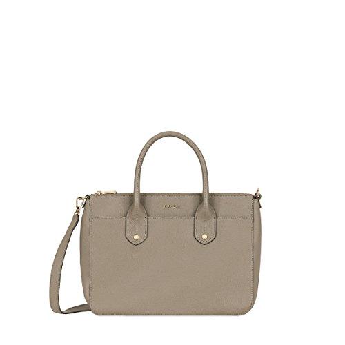Furla Mediterranea handbag medium brown