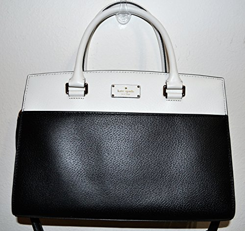 Kate Spade New York Grove Street Caley Leather Satchel, Black